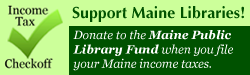 Maine Libraries tax check off